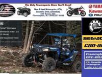 (908) 386-4148 ext.4456 RZR S 900 EPS Blue Fire 75HP