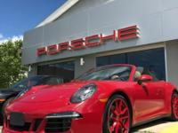 2016 911 CARRERA 4 GTS Cabriolet AWD, MANUAL