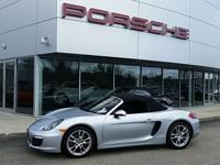 GORGEOUS, 1 OWNER BOXSTER FINISHED IN RHODIUM SILVER