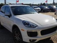 White 2016 Porsche Cayenne AWD 8-Speed Automatic with