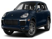 Options:  2016 Porsche Cayenne Base|Miles: 0Color: