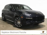 Clean CARFAX. Moonlight Blue Metallic 2016 Porsche