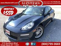 This Lovely Blue 2016 Porsche Panamera 4 AWD Sedan