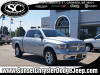 Bright Silver Clearcoat Metallic 2016 Ram 1500 Laramie