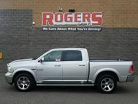 This Ram 1500 has a V6, 3.0L; Turbo high output engine.