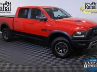 New Price! 2016 Ram 1500 Rebel in Flame Red Clearcoat