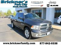 2016 Ram 1500 Big Horn CARFAX One-Owner. Certified. 4
