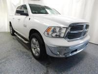 New Price! 1500 Big Horn Bright White Clearcoat CARFAX