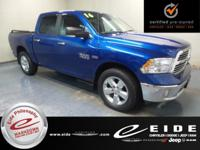 This 2016 Ram 1500 Big Horn Crew Cab is Blue Streak