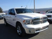 A very sharp one owner Ram Crew Cab with only 23,072