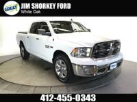 2016 Ram 1500 Big Horn 4WD CARFAX One-Owner. Clean