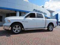 2016 Ram 1500 Big Horn 4WD White 8-Speed Automatic HEMI