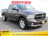 CARFAX One-Owner. Gray 2016 Ram 1500 Express 4WD