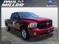 CARFAX One-Owner. Clean CARFAX. Red 2016 Ram 1500