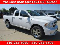 Bright White Clearcoat 2016 Ram 1500 Express 4WD