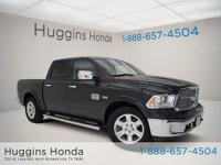 2016 Ram 1500 Black Laramie Longhorn CARFAX One-Owner.
