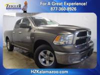 Recent Arrival! 2016 Ram 1500 SLT Gray **ONE OWNER**,