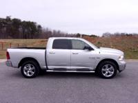 A low mileage, heavily equipped Ram 1500 Crew Cab 4X4.