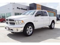This WHITE 2016 RAM 1500 Crew Cab might be just the
