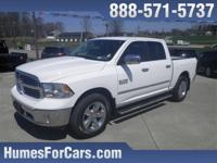 Checkout this Humes 1 Owner Bright White Clearcoat RAM