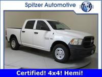 **Dodge Certified* *4x4* *5.7L Hemi* *Tow Package**
