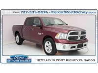 *New arrival* clean carfax one owner, 2016 ram 1500 big