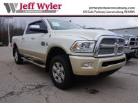 CARFAX One-Owner. Bright White Clearcoat 2016 Ram 2500