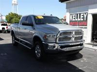 This 2016 Ram 2500 Laramie has 4X4, a 6.7L I6 Cummins