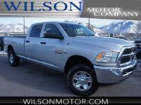 CARFAX One-Owner. White 2016 Ram 2500 Tradesman 4WD