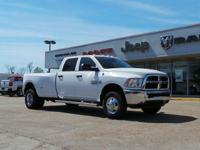 CARFAX One-Owner. Bright White Clearcoat 2016 Ram 3500