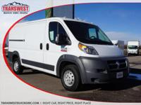 Options:  2016 Ram Promaster 1500 Low Roof|White|Grey