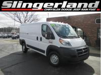 Options:  2016 Ram Promaster 1500 Low Roof|Recent