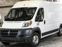 CARFAX 1-Owner, Ram Certified. ProMaster Cargo Van