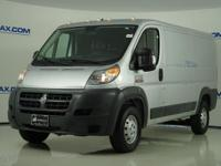 2016 Ram ProMaster 1500 Low Roof in Bright Silver