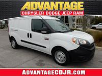 This Bright White 2016 RAM ProMaster City Cargo is a