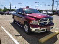 Bright Red 2016 Ram 1500 Big Horn RWD 8-Speed Automatic
