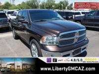 CARFAX One-Owner. Brown 2016 Ram 1500 Big Horn RWD