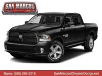 Boasts 25 Highway MPG and 17 City MPG! This Ram 1500