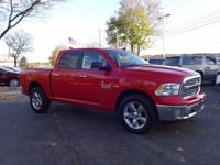 Options:  2016 Ram 1500 Big Horn|Red|Clean Carfax.