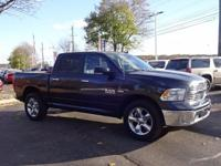 Options:  2016 Ram 1500 Big Horn|Gray|Clean Carfax.