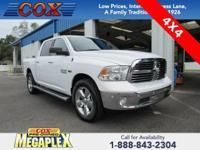 This 2016 Ram 1500 Big Horn in Bright White Clearcoat