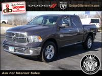 Options:  2016 Ram 1500 4Wd Crew Cab 140.5 Big Horn|4