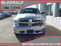 Options:  2016 Ram 1500 Lone Star/Big Horn 4X4 Crew Cab