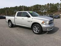 4X4 HEMI!!! BEAUTIFUL SILVER EXTERIOR WITH IMMACULATE