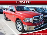 CLEAN CARFAX, BIG HORN, ***1-OWNER***, CALL NOW, **2
