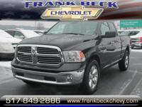 Options:  2016 Ram 1500 Big Horn|4X4 Big Horn 4Dr Quad