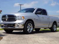2016 Ram 1500 Big Horn in Bright Silver Metallic