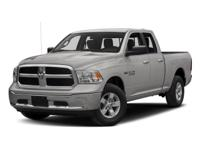 This 2016 Ram 1500 Tradesman in features: ABS brakes,
