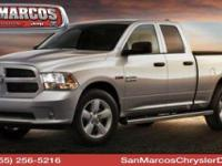 Boasts 22 Highway MPG and 15 City MPG! This Ram 1500
