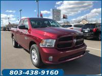 Options:  2016 Ram 1500 Express|Red|Abs